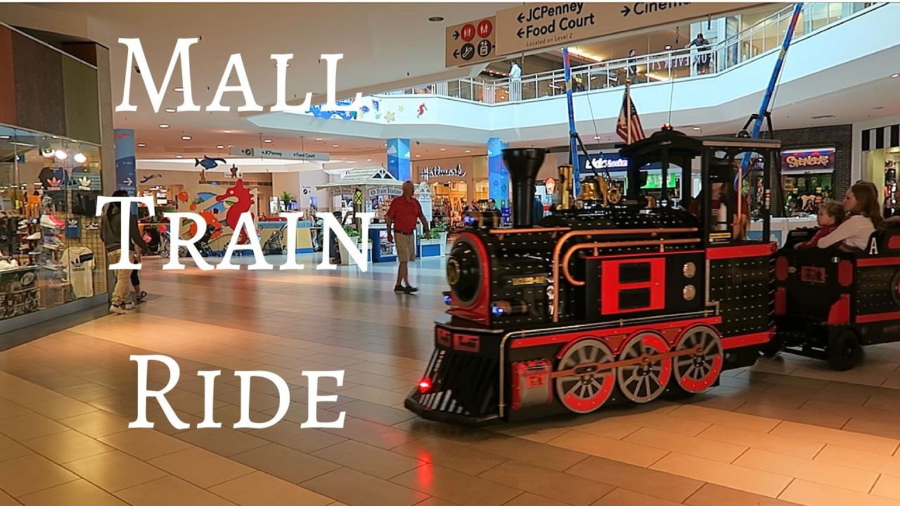 Riding the mall train disney store and gift cards youtube for Americas best storage