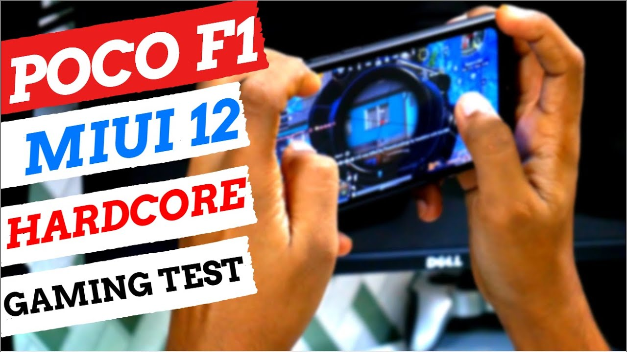 POCO F1 | HARDCORE GAMING TEST ON MIUI 12 | TOUCH, HEATING & BATTERY DRAIN TEST | SHOCKING RESULTS..