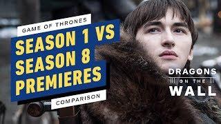 Download Game of Thrones Premiere Comparison: Season 1 vs. Season 8 Callbacks Breakdown Mp3 and Videos
