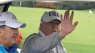Trump rings in the new year at Mar-a-Lago