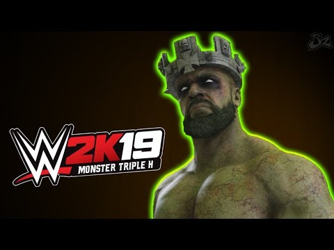 WWE 2K19 : Monster Zombie Triple H?! Gameplay and Entrance