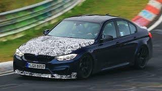 2018 BMW M3 CS Testing on the Nürburgring!