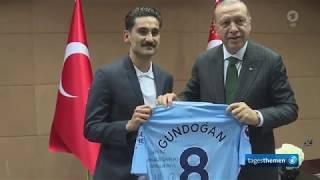 Treffen zwischen Özil und Gündogan mit Erdogan sorgt für Kritik