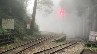 20170828阿里山森林鉄道神子駅入線