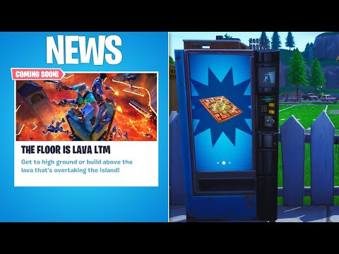 NEW \'THE FLOOR IS LAVA\' LTM! FORTNITE NEW POISON TRAP UPDATE! (FORTNITE FLOOR IS LAVA LTM!)