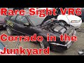1992 VW VR6 Corrado Salvage Yard Find