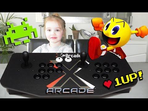 La plus grosse manette de jeu video d'arcade du monde ! Joystick X-Arcade (Unboxing)