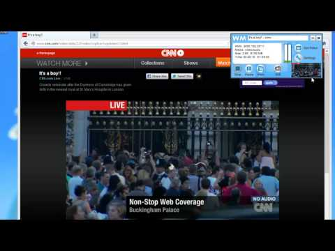 Capture Live Streaming News Events With WM Capture