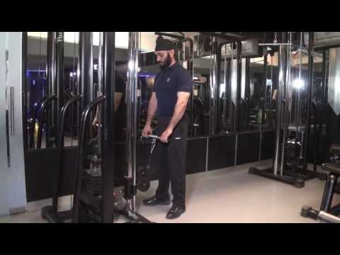 FOREARMS (EXTENSORS) - Straight Arms Cable Reverse Wrist Curls With Straight Handle