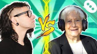 Los abuelitos y el Dubstep (Musica Electronica Pesada)