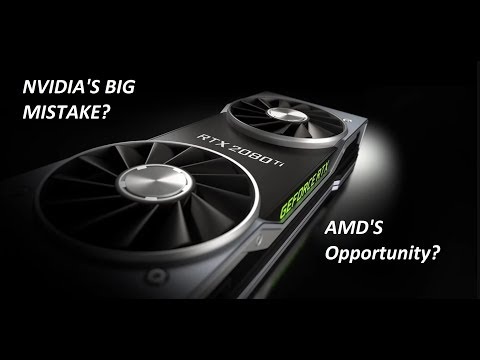 NVIDIA's RTX 2080 Mistake is AMD's Opportunity