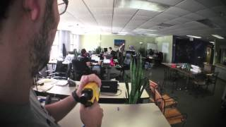 Nerf Gun Battle at Customer Paradigm