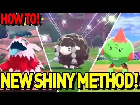 EASY SHINY HUNTING GUIDE! How to get Shiny Pokemon in Pokemon Sword and Shield!