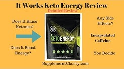 It Works Keto Energy Review: Does It Work?
