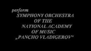 "NIKOLA VALCHANOV (Bulgaria) - Symphonic Suite ""Celebration"""