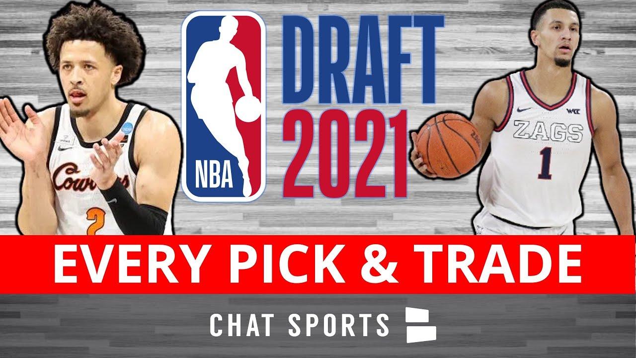 Download NBA Draft 2021 Results: Picks 1-60 - Full Draft Board Including Trades