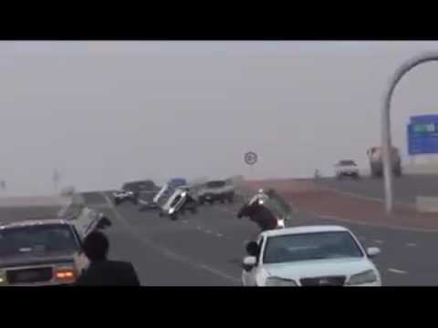 Car wheeling in Dubai