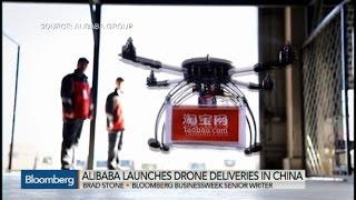 Drone Wars: Alibaba Tests Out Drone Delivery in China
