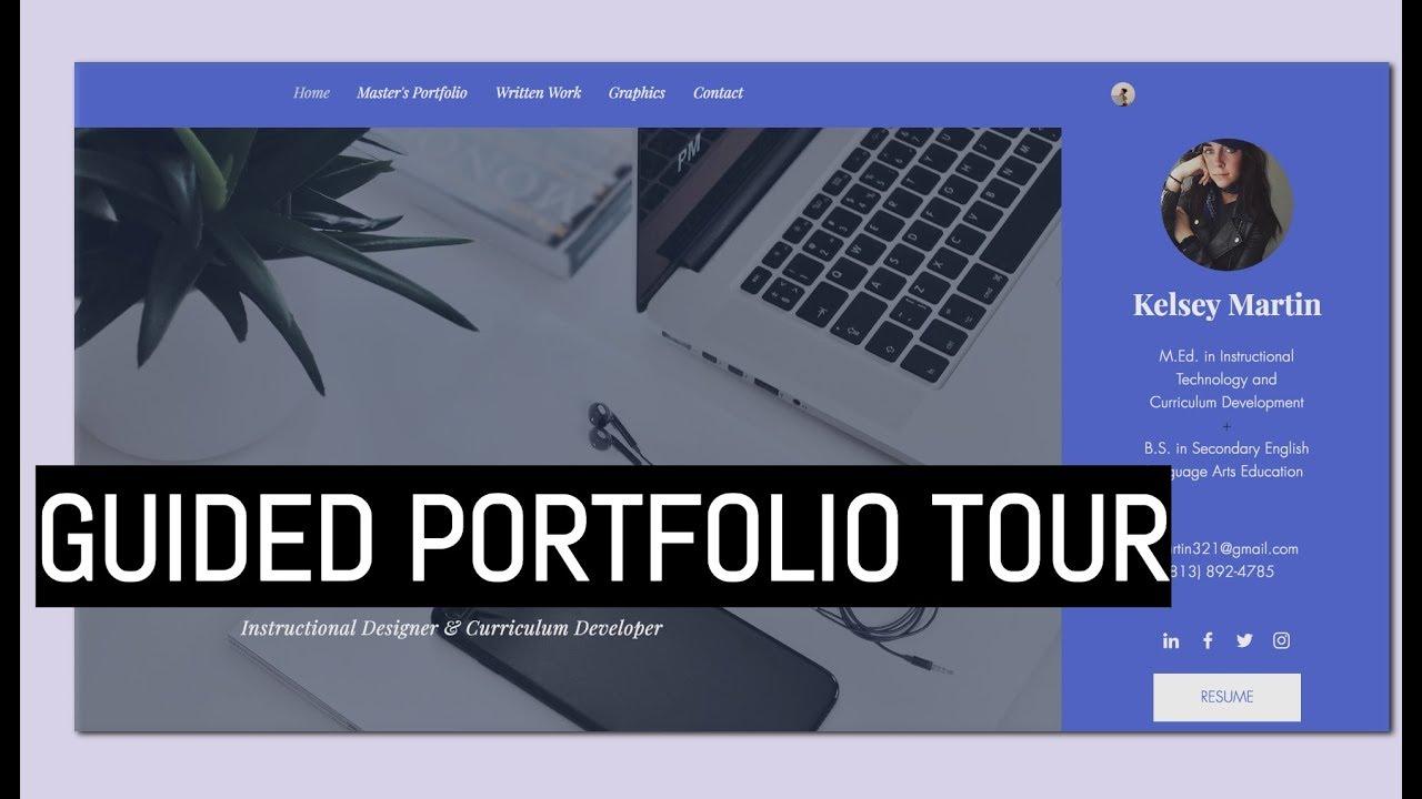 Instructional Design Portfolios – 34 Well-Built Samples