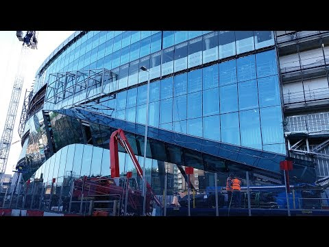 Spurs New Stadium - White Hart Lane - 15 May 2018