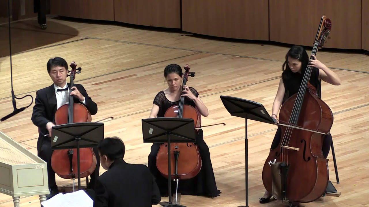 2015/10/07_01韋瓦第 (1678-1741) B小調小提琴四重協奏曲,RV 580 A. - YouTube