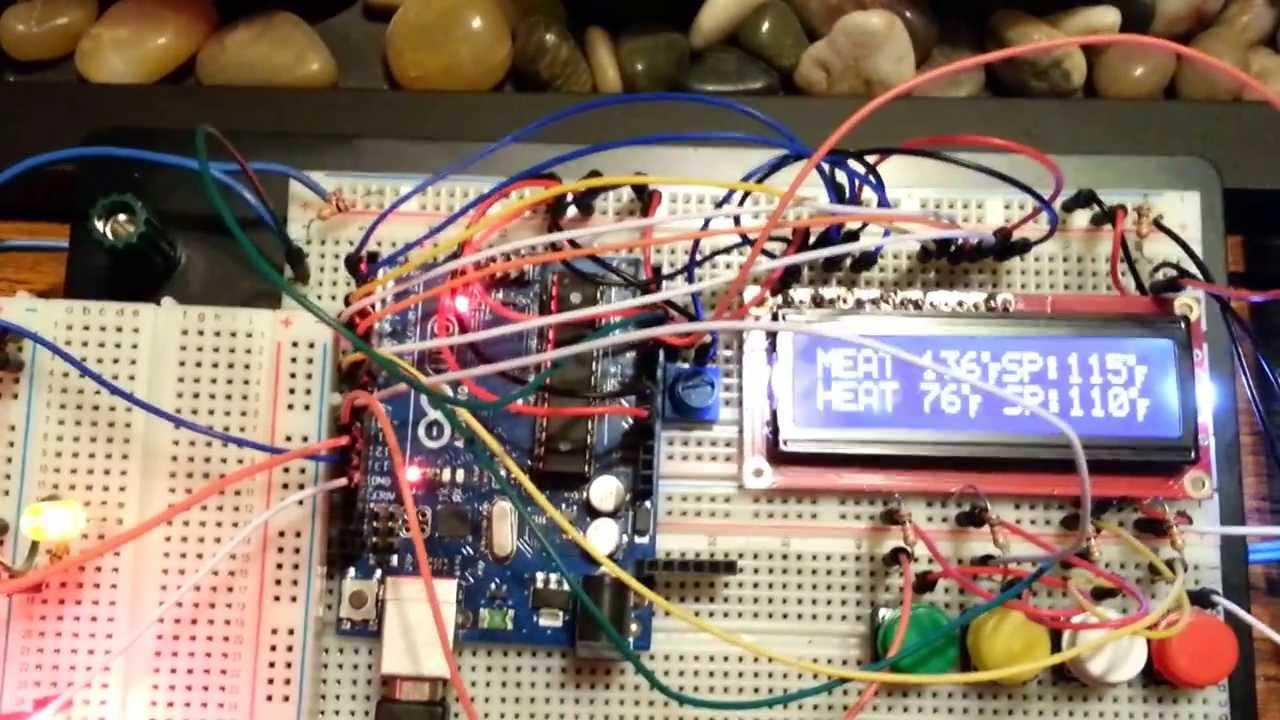 Arduino temperature grill control