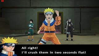 Naruto Uzumaki Chronicles 2 Walkthrough Part 10 Sand Village Battle! Struggle for the Orb 60 FPS