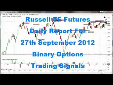 1 Simple Way You Can Make Millions No BS 27th Sept 2012 Daily Report Russell TF Futures
