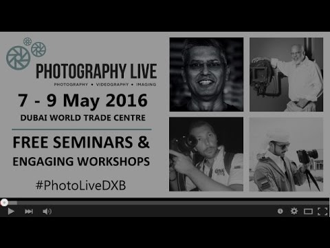 Speakers at Photography LIVE 2016