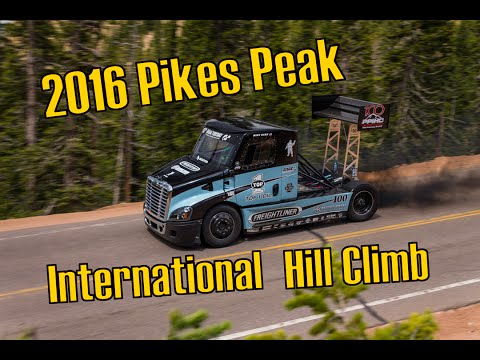 2016 Pikes Peak International Hill Climb (Cove Creek)
