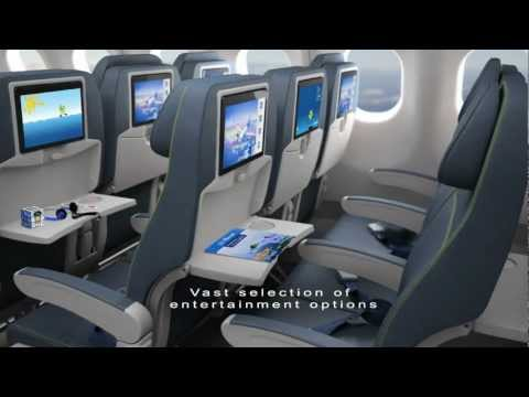 Air Transat New Cabin featuring RAVE In-flight Entertainment