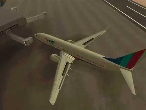 Boeing 737-800 FLY US en GTA San Andreas