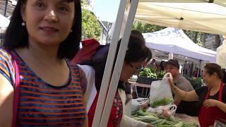 Cuộc sống Mỹ - Người Việt Hải Ngoại . Đi chợ trời ở Mỹ , Video in 4K