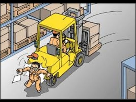 Forklift Vs Pedestrian 10 Minutes To Safety Youtube