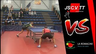 LA ROMAGNE vs CUGNAUX VILLENEUVE | NATIONALE 1 | TENNIS DE TABLE | HIGHLIGHTS