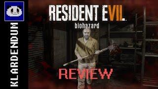 Review: RESIDENT EVIL 7: biohazard