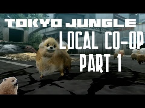 Tokyo Jungle  Coop Survival Mode Japan English Commentary Part 1 w Teedly & Drew