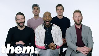 Queer Eye's Fab Five Talk Drag Queens, Madonna and Bears on the LGBTQuiz | them.