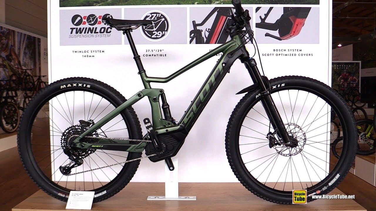 4d2c292235e Elskede 2019 Scott Strike eRide 710 Electric Mountain Bike - Walkaround UW57