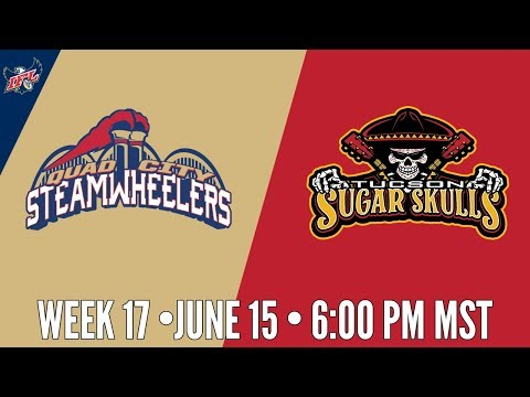 IFL Week 17 | Tucson Sugar Skulls at Quad City Steamwheelers