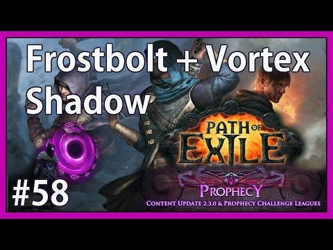 Build change: critical strikes + freeze - #58 - Frostbolt + Vortex Shadow - Path of Exile (v2.3.1c)