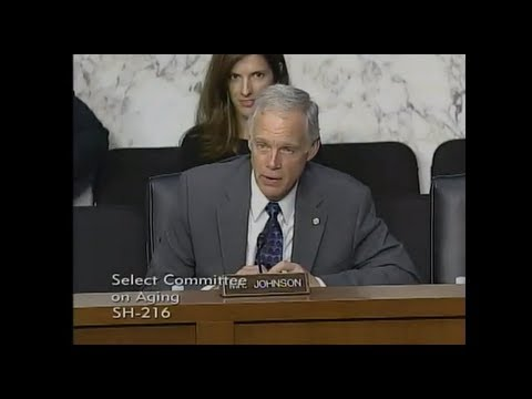 Senator Johnson Questions Witnesses at Aging Committee Hearing