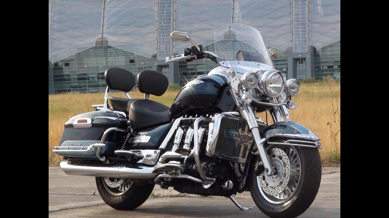 big motorbike triumph rocket 3 touring aufbau anbau teile parts