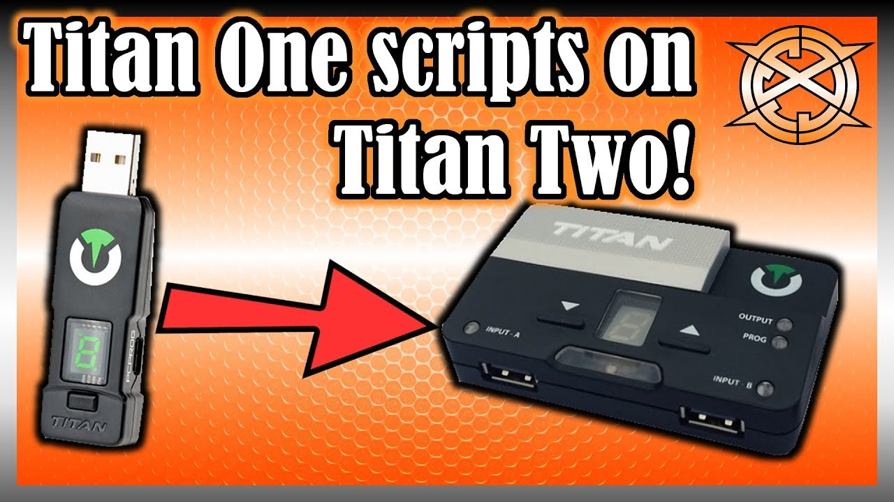 How to use Titan One scripts on Titan Two