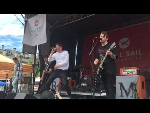 Boston Manor - Lead Feet : Live - Warped Tour 2017