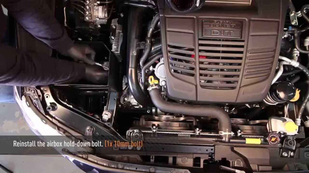 2015 Subaru WRX Performance Air Intake Installation by
