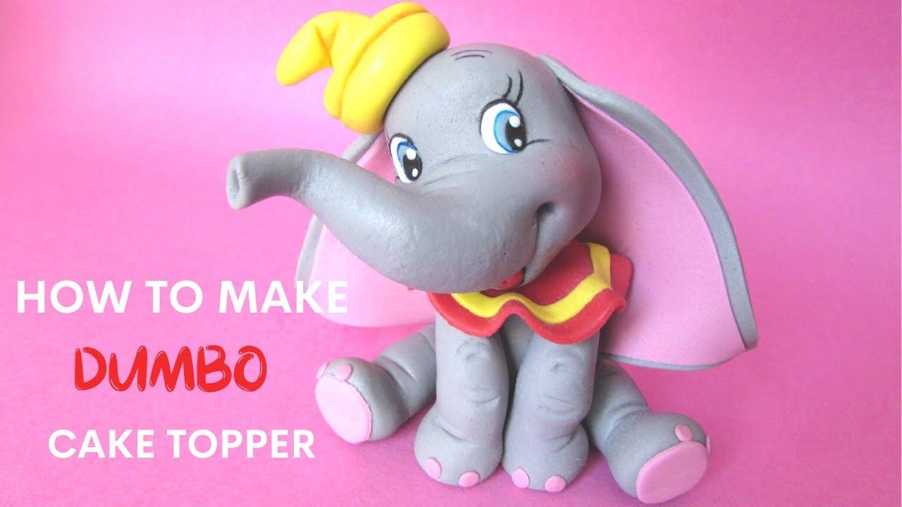 Şeker Hamuru İle Modelleme - Uçan Fil Dumbo