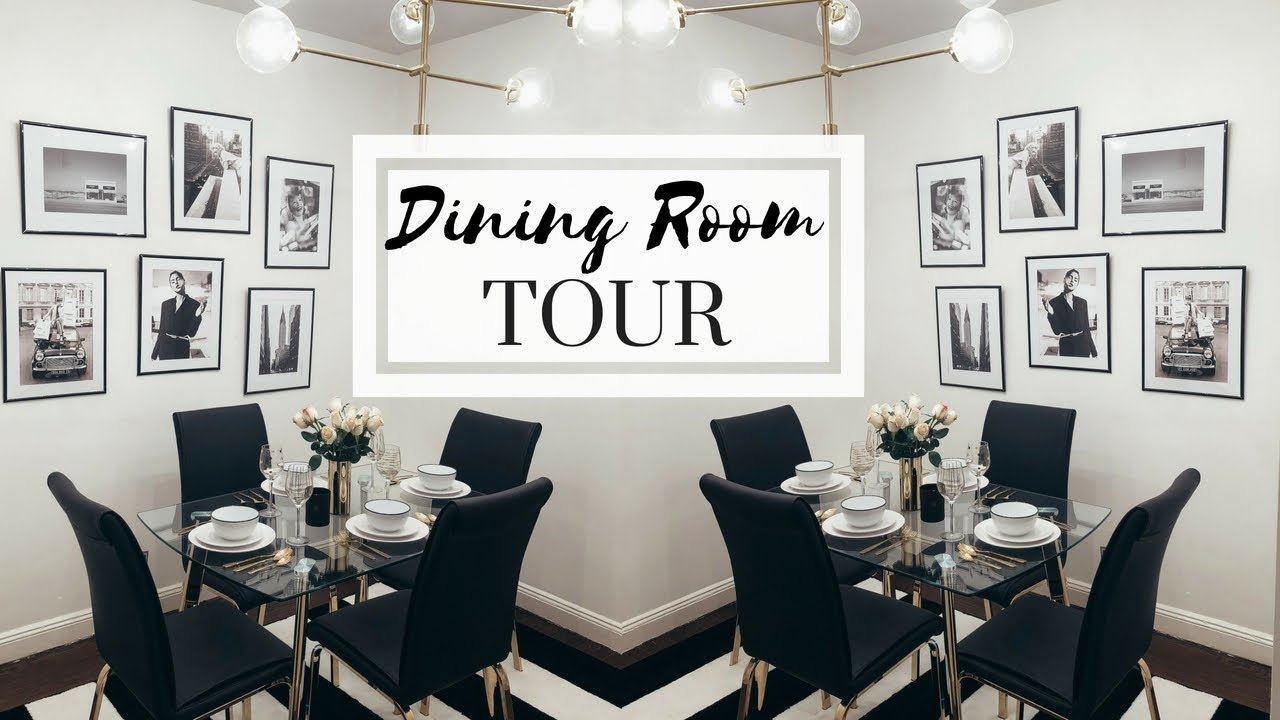 Nyc Apartment Tour The Dining Room Decorating Ideas