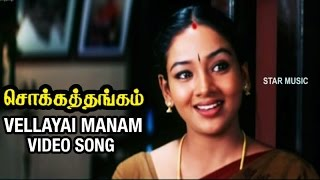Vellayai Manam Video Song | Chokka Thangam Tamil Movie | Vijayakanth | Soundarya | Deva