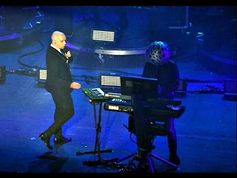 "Pet Shop Boys at Awards 2017 ""Winner Godlike Genius""  performance"